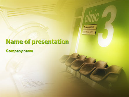 Medical: Clinic PowerPoint Template #02147