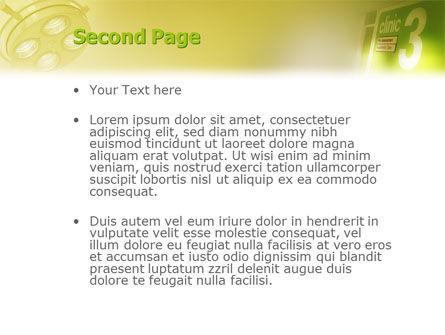 Clinic PowerPoint Template, Slide 2, 02147, Medical — PoweredTemplate.com
