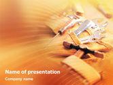 Utilities/Industrial: Plantilla de PowerPoint - cinturón de herramientas de cuero #02148
