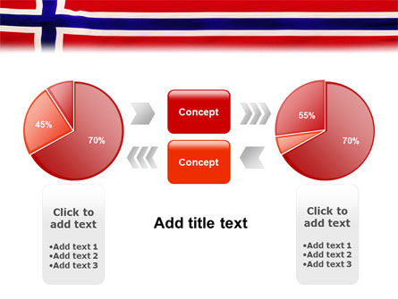 Flag of Norway PowerPoint Template Slide 11
