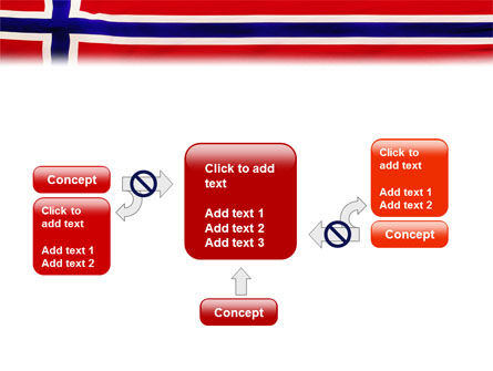 Flag of Norway PowerPoint Template Slide 13