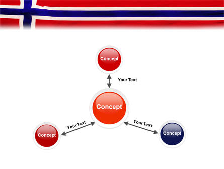 Flag of Norway PowerPoint Template Slide 14