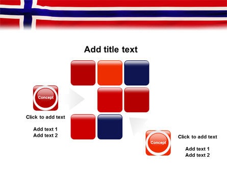 Flag of Norway PowerPoint Template Slide 16