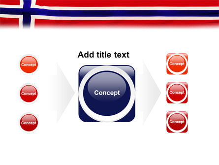 Flag of Norway PowerPoint Template Slide 17