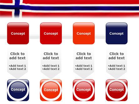 Flag of Norway PowerPoint Template Slide 18
