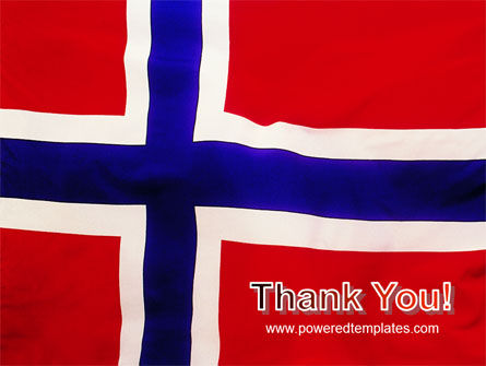 Flag of Norway PowerPoint Template Slide 20