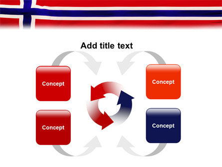 Flag of Norway PowerPoint Template Slide 6