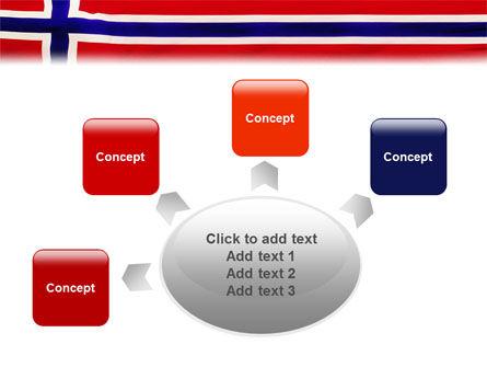 Flag of Norway PowerPoint Template Slide 7