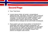 Flag of Norway PowerPoint Template#2