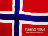 Flag of Norway PowerPoint Template#20