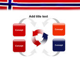 Flag of Norway PowerPoint Template#6