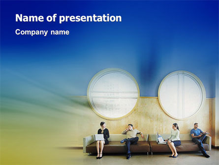 Expectation PowerPoint Template, 02151, Business Concepts — PoweredTemplate.com