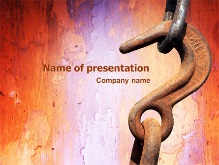 Utilities/Industrial: Hook PowerPoint Template #02152