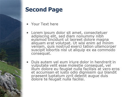 Mountain PowerPoint Template, Slide 2, 02157, Animals and Pets — PoweredTemplate.com