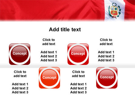 Flag of Peru PowerPoint Template Slide 19
