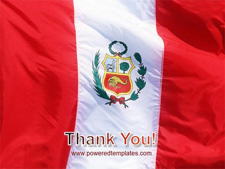 Flag of Peru PowerPoint Template Slide 20