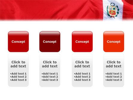 Flag of Peru PowerPoint Template Slide 5