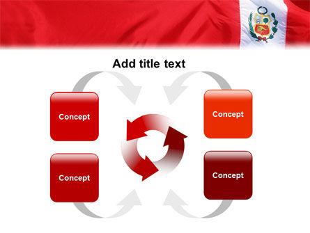 Flag of Peru PowerPoint Template Slide 6