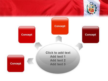 Flag of Peru PowerPoint Template Slide 7