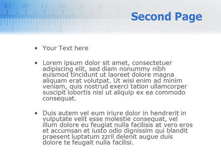 Tape Line PowerPoint Template Slide 2