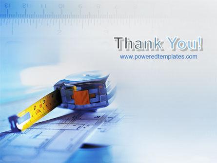 Tape Line PowerPoint Template Slide 20