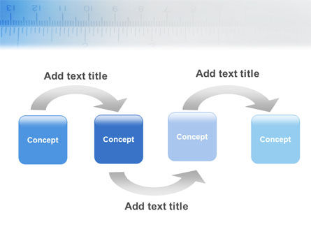 Tape Line PowerPoint Template, Slide 4, 02161, Construction — PoweredTemplate.com