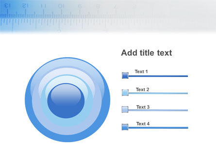 Tape Line PowerPoint Template Slide 9