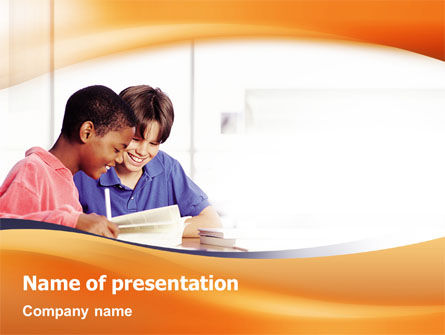 Cooperation PowerPoint Template, 02164, Education & Training — PoweredTemplate.com