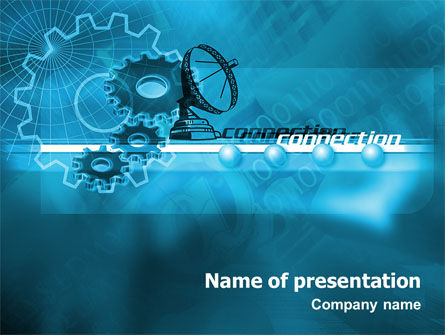 Telecommunication Systems PowerPoint Template, 02168, Telecommunication — PoweredTemplate.com