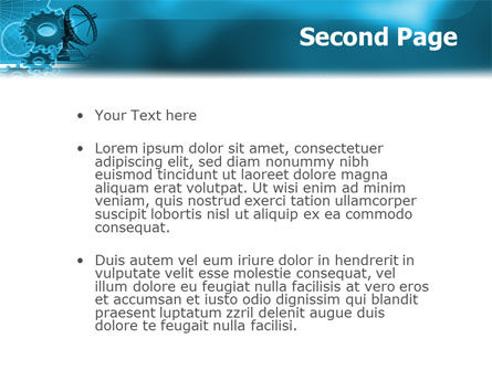 Telecommunication Systems PowerPoint Template, Slide 2, 02168, Telecommunication — PoweredTemplate.com