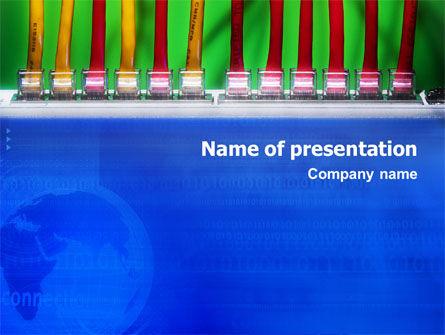 Internet Switch PowerPoint Template, 02170, Telecommunication — PoweredTemplate.com