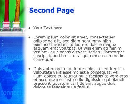 Internet Switch PowerPoint Template, Slide 2, 02170, Telecommunication — PoweredTemplate.com
