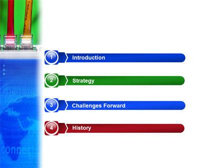 Internet Switch PowerPoint Template, Slide 3, 02170, Telecommunication — PoweredTemplate.com