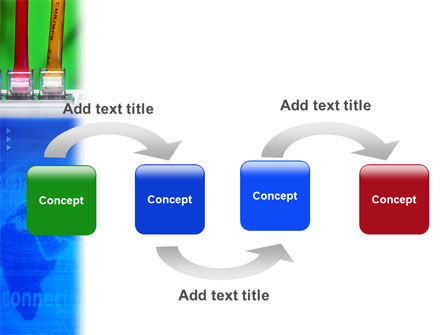Internet Switch PowerPoint Template, Slide 4, 02170, Telecommunication — PoweredTemplate.com