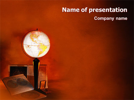 History PowerPoint Template, 02171, Education & Training — PoweredTemplate.com