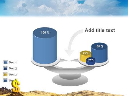 Dollar In Desert PowerPoint Template Slide 10