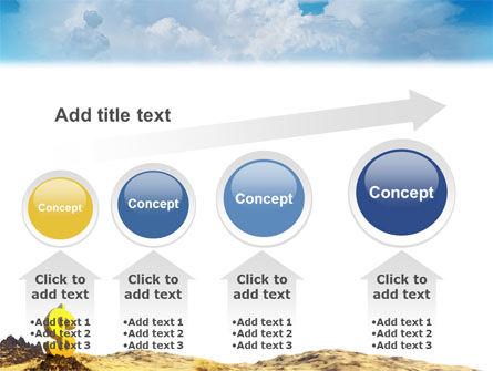 Dollar In Desert PowerPoint Template Slide 13