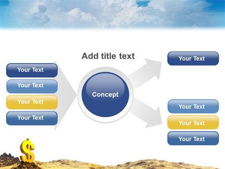 Dollar In Desert PowerPoint Template Slide 14
