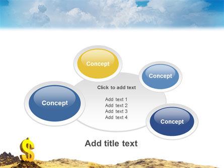 Dollar In Desert PowerPoint Template Slide 16