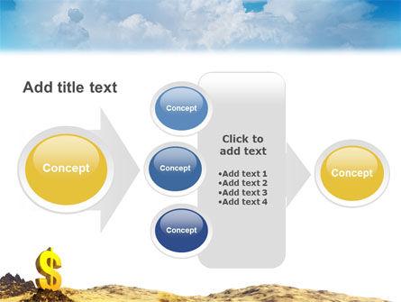 Dollar In Desert PowerPoint Template Slide 17