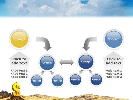 Dollar In Desert PowerPoint Template Slide 19