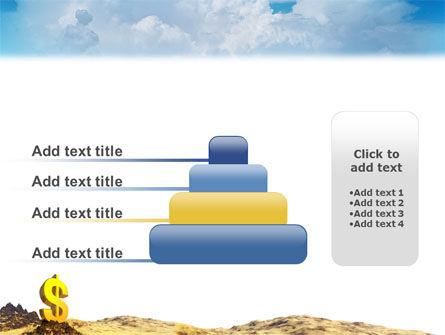 Dollar In Desert PowerPoint Template Slide 8