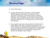Dollar In Desert PowerPoint Template#2