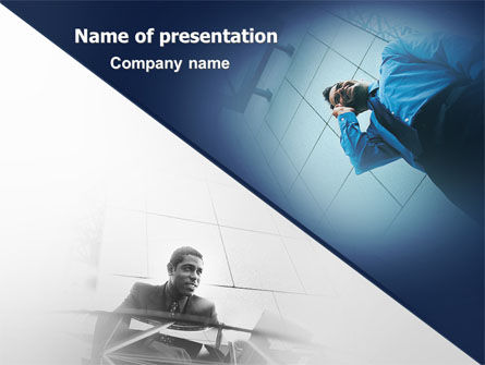 Business Partners PowerPoint Template, 02173, Business Concepts — PoweredTemplate.com