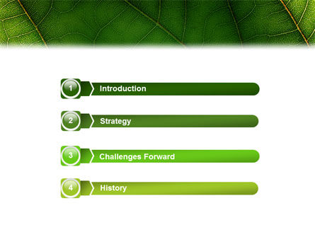 Botany PowerPoint Template, Slide 3, 02176, Nature & Environment — PoweredTemplate.com