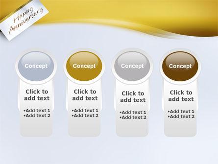 Happy Anniversary PowerPoint Template Slide 5