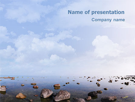 Nature & Environment: Solitude PowerPoint Template #02178