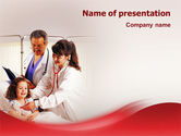 Medical: Child Health PowerPoint Template #02179