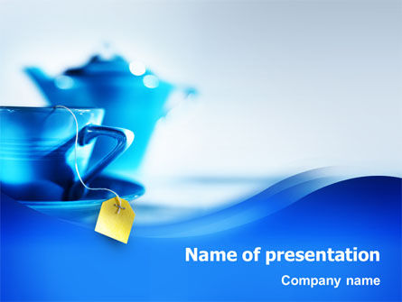 Tea PowerPoint Template, 02187, Food & Beverage — PoweredTemplate.com