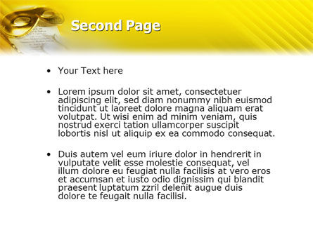 Masquerade PowerPoint Template Slide 2